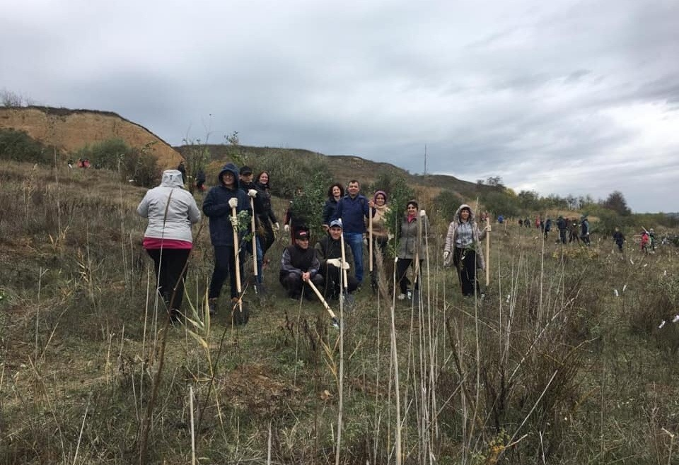 1.000 trees for our 25th anniversary